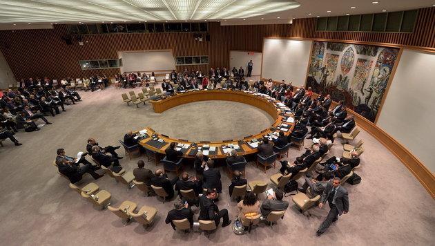 USA enthält sich bei israel-kritischer Resolution (Bild: EPA)