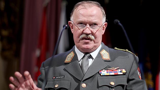 """""""Jede Armee braucht sogenannte Systemerhalter"""" (Bild: APA/Georg Hochmuth)"""