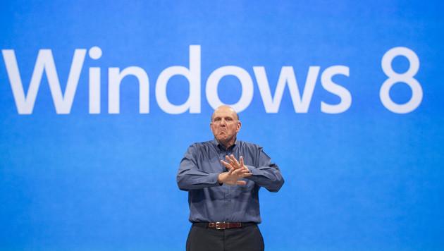 Schwache Zahlen bei Microsoft vor Windows-8-Start (Bild: AP)