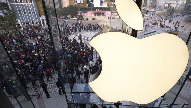 Apple soll bereits Prototypen eigener Fernseher testen (Bild: AP)