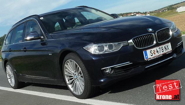 BMW 330d Touring: Mehr Lastbarkeit, volle Lustbarkeit (Bild: Stephan Sch�tzl)