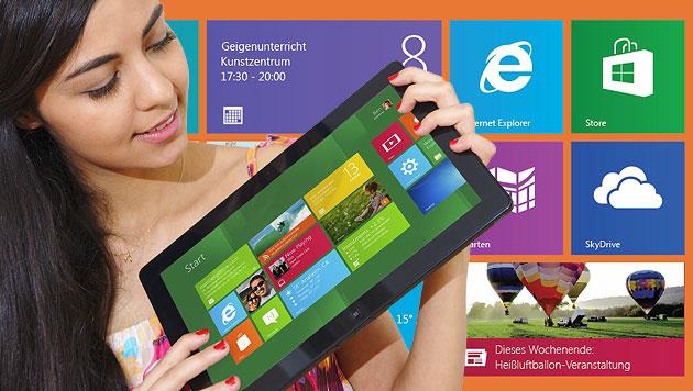 Windows 8 ist da: Alle Fakten im krone.at-Überblick (Bild: Microsoft, krone.at-Grafik)