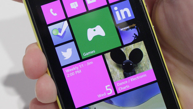 Windows Phone dank Nokia auf Wachstumskurs (Bild: AP)