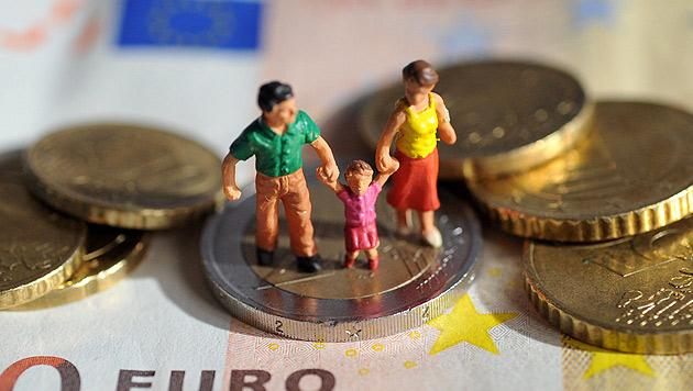 Kindergeld Neu: Das sind die Eckpunkte (Bild: dpa/Andreas Gebert)