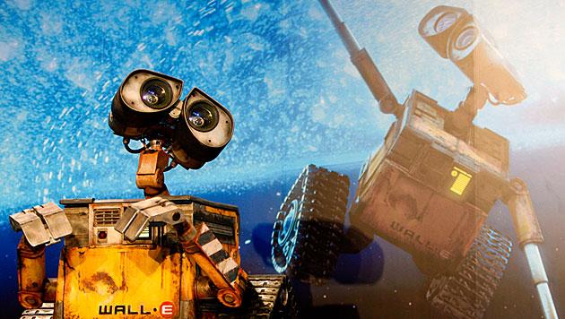 """Wall-E und andere neu in der """"Hall of Fame"""" der Roboter (Bild: EPA)"""
