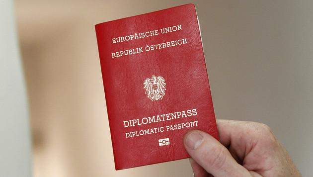 Diplomatenpässe: Fast die Hälfte freiwillig abgegeben (Bild: APA/Dragan Tatic)