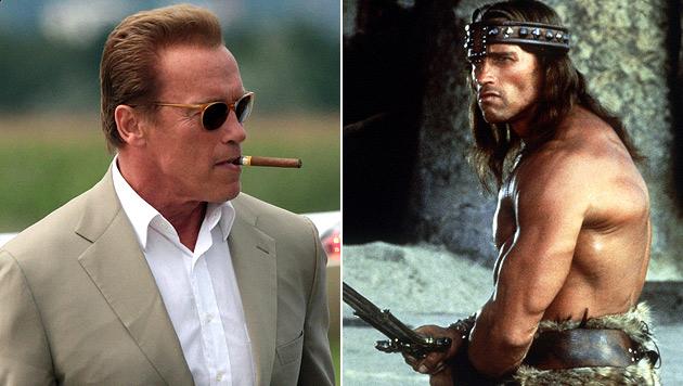 "Schwarzenegger gibt Comeback als Filmheld ""Conan"" (Bild: EPA, dpa)"