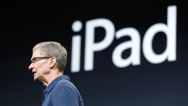 """Apple-Chef: """"Wir würden nie ein 7-Zoll-Tablet bauen"""" (Bild: AP)"""