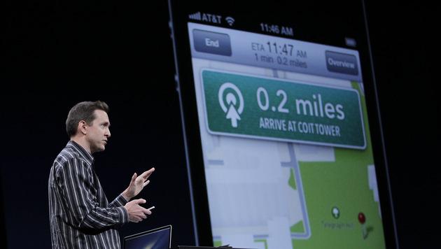 Apple-Topmanager nach Karten-Debakel gefeuert (Bild: AP)
