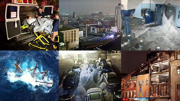 "Cyber-Attacken zerstörerisch wie Hurrikan ""Sandy"" (Bild: AP, AFP)"