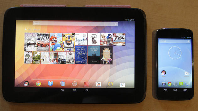 Google bringt iPad-Konkurrenten Nexus 10 zum Kampfpreis (Bild: AP)