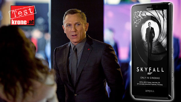 T, Xperia T: Sonys James-Bond-Smartphone im Test (Bild: dapd, Sony, krone.at-Grafik)