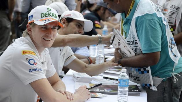 Force-India-Pilot Nico Hülkenberg wechselt zu Sauber (Bild: EPA)