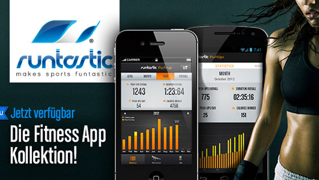 Linzer Firma bringt 4 neue Sport-Apps für Smartphones (Bild: runtastic)