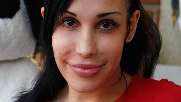 """""""Octomom"""" Nadya  Suleman in Entzugsklinik (Bild: dapd)"""