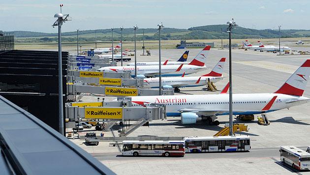 Zusammenarbeit von AUA und Airport Wien vom Tisch (Bild: APA/Helmut Fohringer)