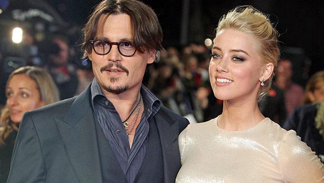 Johnny Depp erobert Amber Heard zurück (Bild: dapd)
