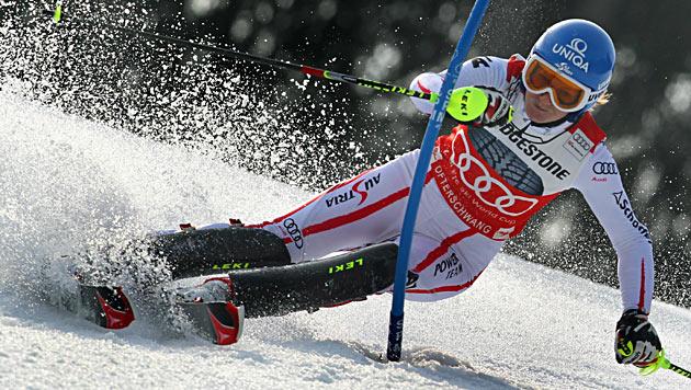 ÖSV-Aufstellung für Damen-Slalom in Levi fixiert (Bild: EPA)