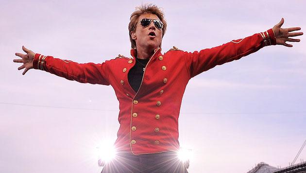US-Rocker Bon Jovi am 17. Mai wieder zu Gast in Wien (Bild: AP)
