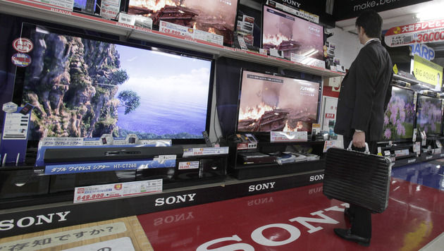 Weiter rote Zahlen bei Sony, Sharp vor Rekordverlust (Bild: AP)