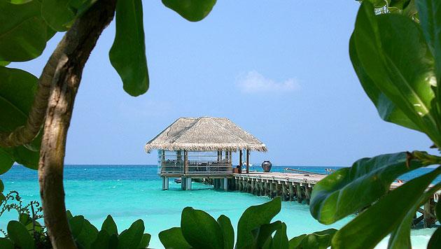 Ein Urlaub auf den Malediven: Das Paradies auf Erden (Bild: dpa/Aliki Nassoufis)