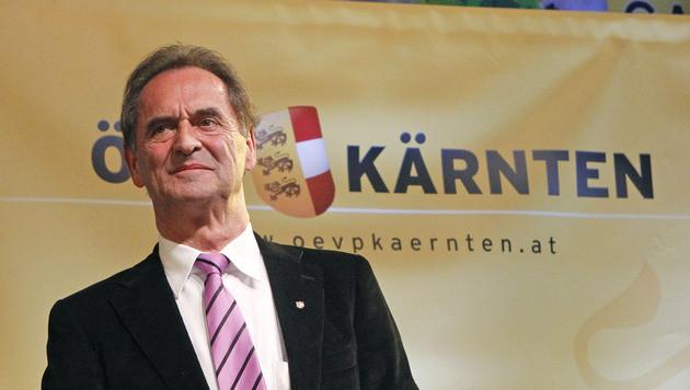 Obernosterer zum Spitzenkandidat der ÖVP gekürt (Bild: APA/GERT EGGENBERGER)
