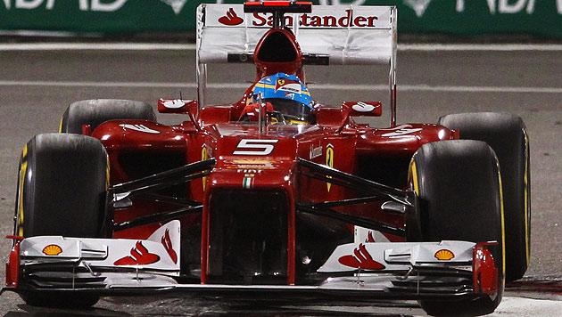Räikkönen gewinnt, Vettel mit Platz drei weiter WM-Leader (Bild: EPA)