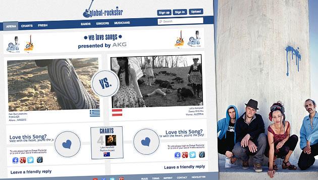 Global Rockstar sucht musikalische Talente (Bild: Global Rockstar, Watcha Clan)