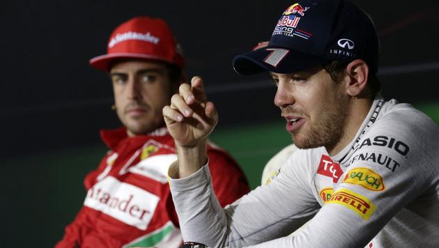 Vettel kann schon in Texas WM-Hattrick fixieren (Bild: AP)