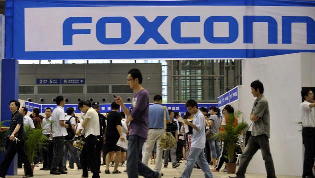 Foxconn plant Anschaffung einer Roboter-Armada (Bild: AP)