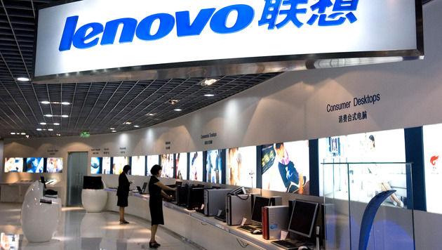 Lenovo festigt ersten Platz am europäischen Markt (Bild: AP)