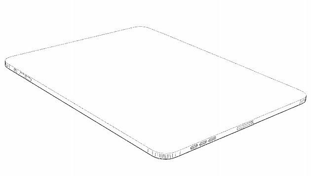 """Apple erhält Patent auf """"Rechteck mit runden Ecken"""" (Bild: U.S. Patent and Trademark Office)"""