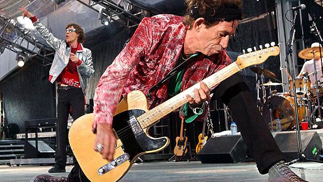 Rolling Stones mit Best-of-Album und Konzerten zurück (Bild: dapd)