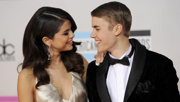 Justin Bieber und Selena Gomez auf Romantik-Urlaub (Bild: dapd)