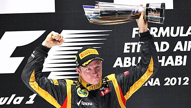 "Räikkönen verteilte 500 ""Lasst mich in Ruhe""-T-Shirts (Bild: EPA)"