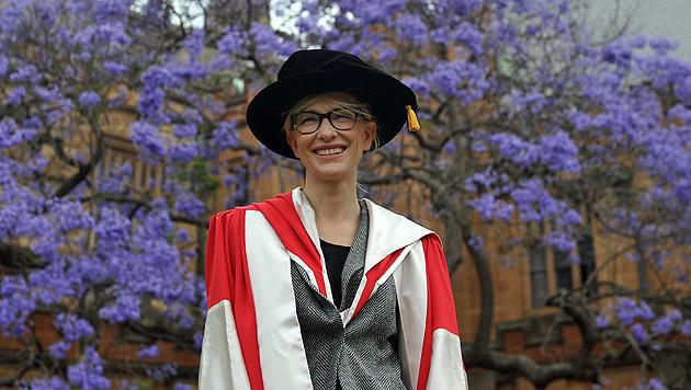 Ehrendoktorwürde für Cate Blanchett in Sydney (Bild: EPA)
