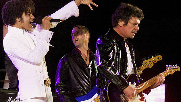 Aussie-Rocker INXS hören nach 35 Jahren auf (Bild: EPA)