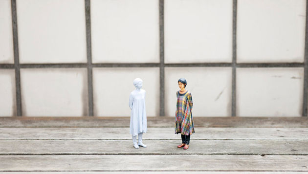 Fotokabine in Japan druckt Action-Figur statt Bild (Bild: Omote 3D)