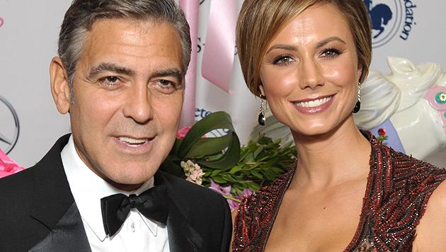 Keibler verheimlicht George Clooney Botox-Behandlung (Bild: dapd)