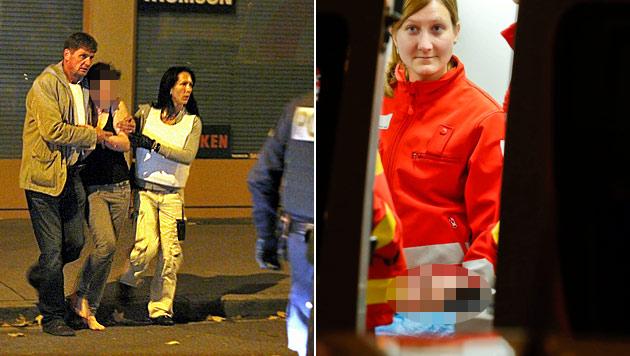 Salzburg: Cobra stoppt Tobenden mittels Taser-Waffe (Bild: Markus Tschepp)