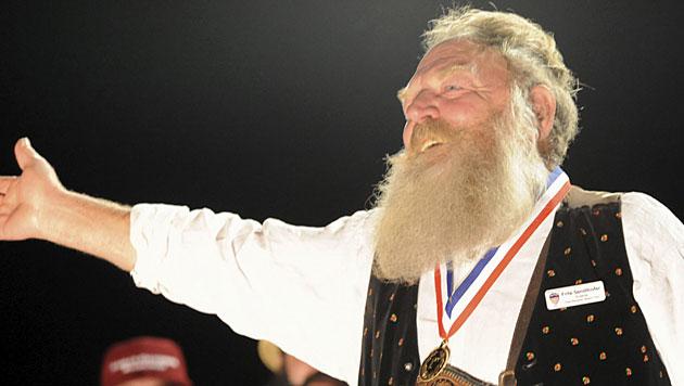 Salzburger holt in Las Vegas Gold bei Bart-Meisterschaft (Bild: Las Vegas News Bureau/Glenn Pinkerton)