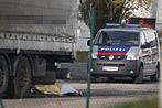 Wien: Arbeiter von fliehendem Lkw-Lenker totgefahren (Bild: APA/GEORG HOCHMUTH)