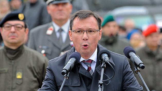 """Darabos: """"Bleibt Wehrpflicht, wird das natürlich teuer"""" (Bild: APA/Herbert Neubauer)"""