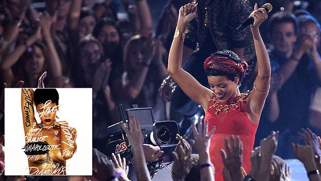 """Die """"Krone"""" holt R&B-K�nigin Rihanna nach Wien (Bild: AP, Universal Music)"""
