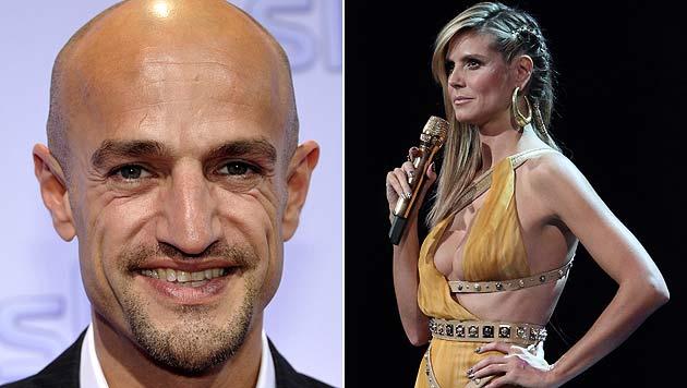 Ex-Topmodel-Juror Amin l�stert �ber Heidi Klum (Bild: dapd, AFP)
