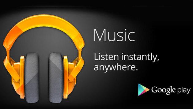 Google Play Music mit personalisierten Playlists (Bild: Google)
