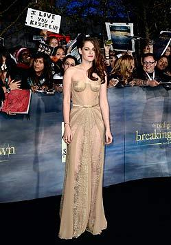 Kess: Kristen Stewart zeigt uns ihr H�schen... (Bild: EPA)