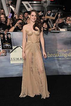 Kess: Kristen Stewart zeigt uns ihr H�schen... (Bild: dapd)