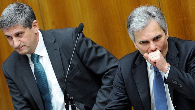 Koalition relativiert Veto-Drohung beim EU-Budget (Bild: APA/Robert Jaeger)