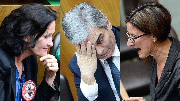 Zivildienst-Debatte im Nationalrat mit Wahlkampftönen (Bild: APA/ROBERT JAEGER)